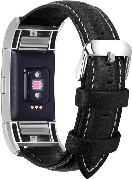 fitbit charge 2 bracelet cuir