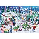 Christmas Tree Farm Advent Calendar (Countdown to Christmas)