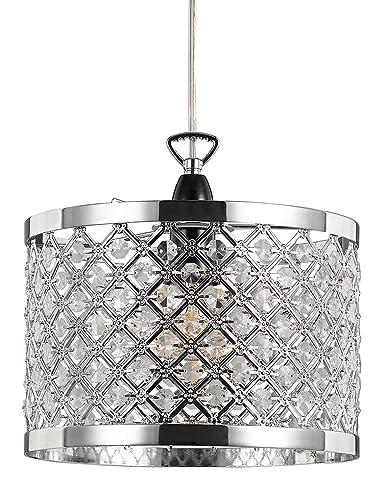 Haysom Interiors - Pantalla para lámpara de techo con ...