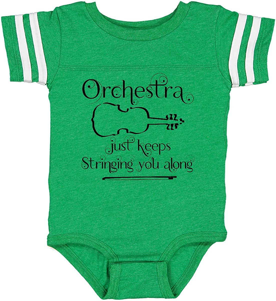 inktastic Peace Love Violin Infant Creeper