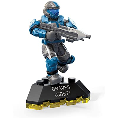 Mega Construx Halo Heroes ODST Graves Toy, Multicolor: Toys & Games