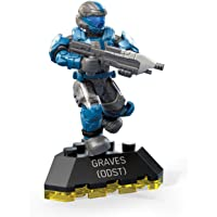 Mega Construx Halo Heroes ODST Graves Toy, Multicolor