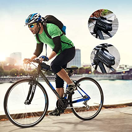 Borsa Eva Bike Anti-Stress Borsa da Bici con Touchscreen Sensibile Mountain Mountain BMX Bike WAINEO Porta Telefono Portabici