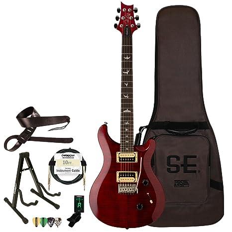 PRS SE Custom 24 guitarra eléctrica con ChromaCast accesorios