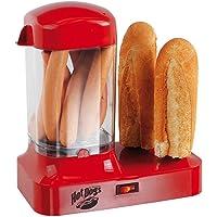 Hot Dog Maker salchichas calentador para 8 salchichas perrito caliente eléctrica (recipiente térmica, panecillos