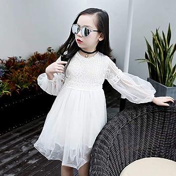 33e2263ee7b40 韓国子供服 女の子 春秋着 長袖 ワンピース 可愛いスタイル レーススカート入園 入学 フォーマル プリンセス