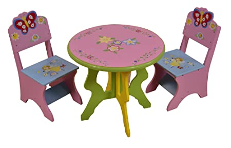 Captivating Liberty House Toys Butterfly Table And Chairs Set