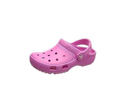4d27b4ddbaad Crocs Kids Unisex Coast Clog (Toddler Little Kid) Party Pink 12 M US ...