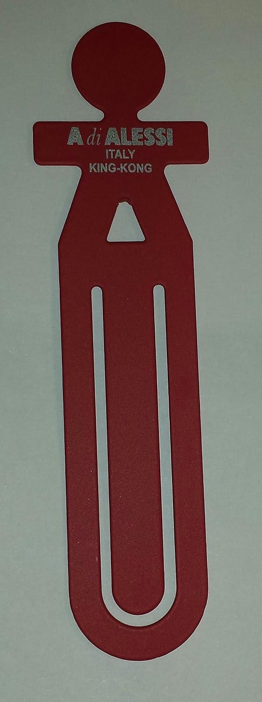 Alessi Girotondo segnalibro omino rosso