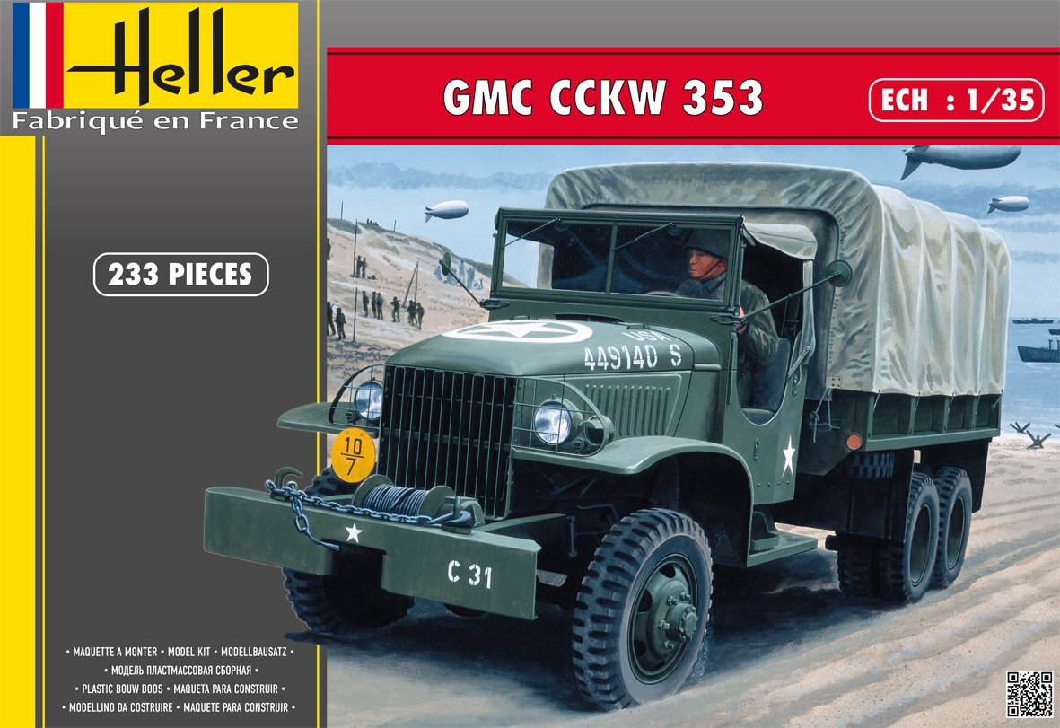 Heller - 81121 - Maqueta para Construir - GMC - 1/35: Amazon ...