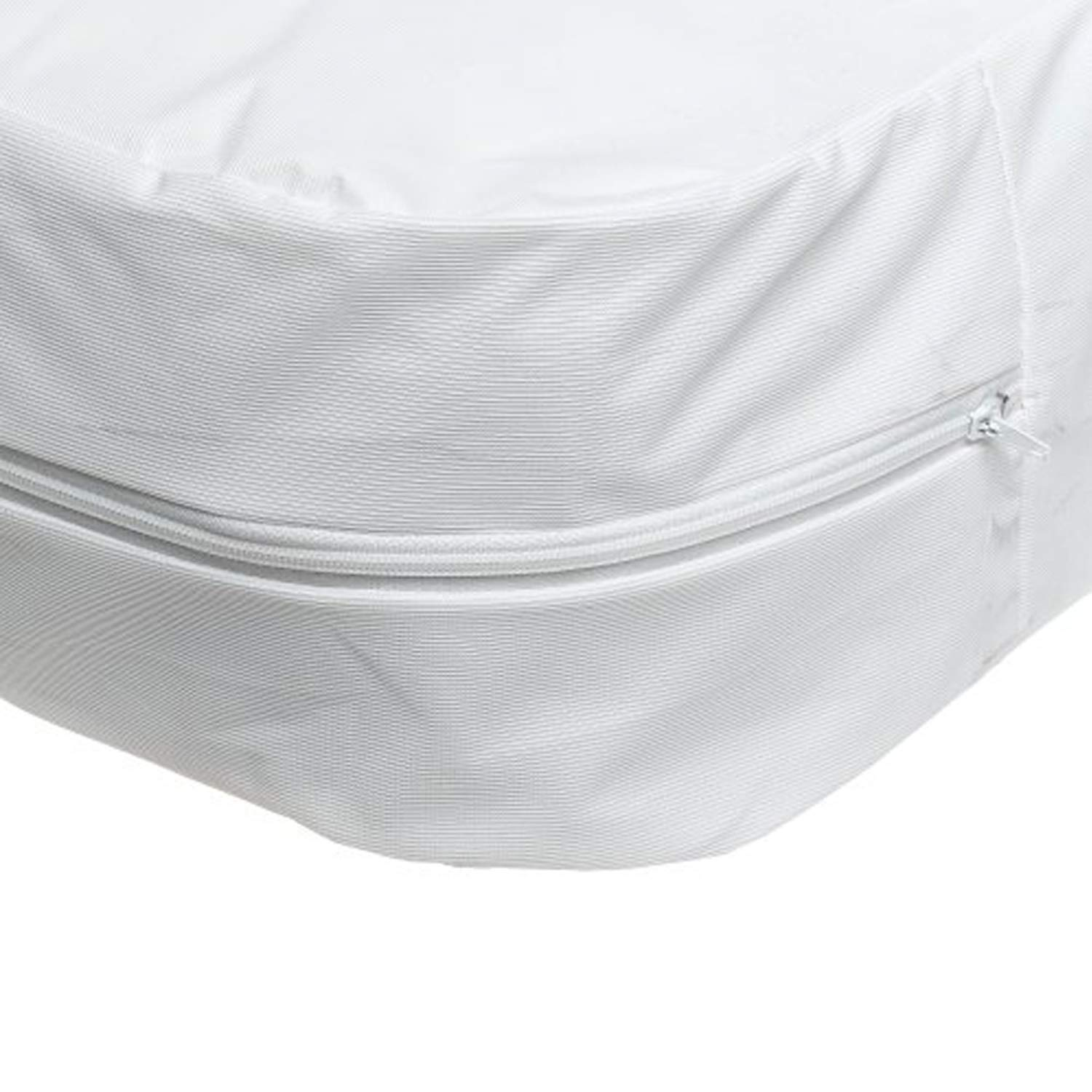 Bed Cover Twin Size Fitted Sheet Zippered Plastic Mattress