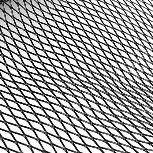 100x 33 cm Aluminio Racing Grille Malla Auto Tuning Grill Rhombus Frente Racing Grille Trim Cover Para Veh/ículos Veh/ículo Grille Reseau