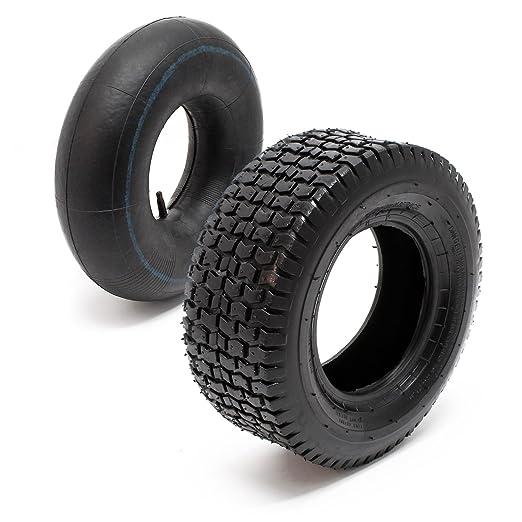 WilTec - Neumático para tractor cortacésped y cortacésped, 4 ...