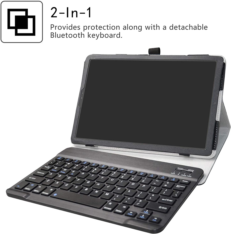 Funda para teclado inalámbrico Galaxy TAB S5E(2019).Negra