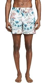 838999d830 Bather Men's Daytime Hawaii Print Swim Trunks