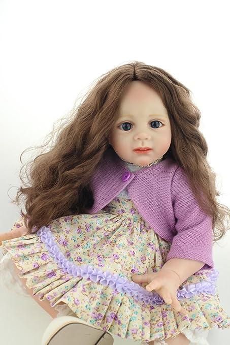 Amazon.com: Lilith muñeca recién nacida de 24 inch, aspecto ...