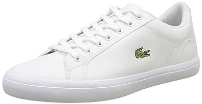 Herren Lerond Bl 2 Trainer Low-Top Sneaker, Weiß (WHT), 43 EU Lacoste