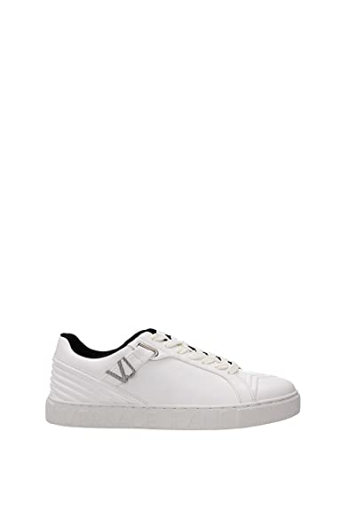 Versace Jeans Sneakers Homme - Cuir (E0YQBSF177221003) 45 EU  Amazon ... d1bf51b1e50
