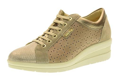 ENVAL SOFT Zapatillas de Deporte de Las Mujeres con cuña 79583/00 Tortora Talla 40 Tórtola: Amazon.es: Zapatos y complementos