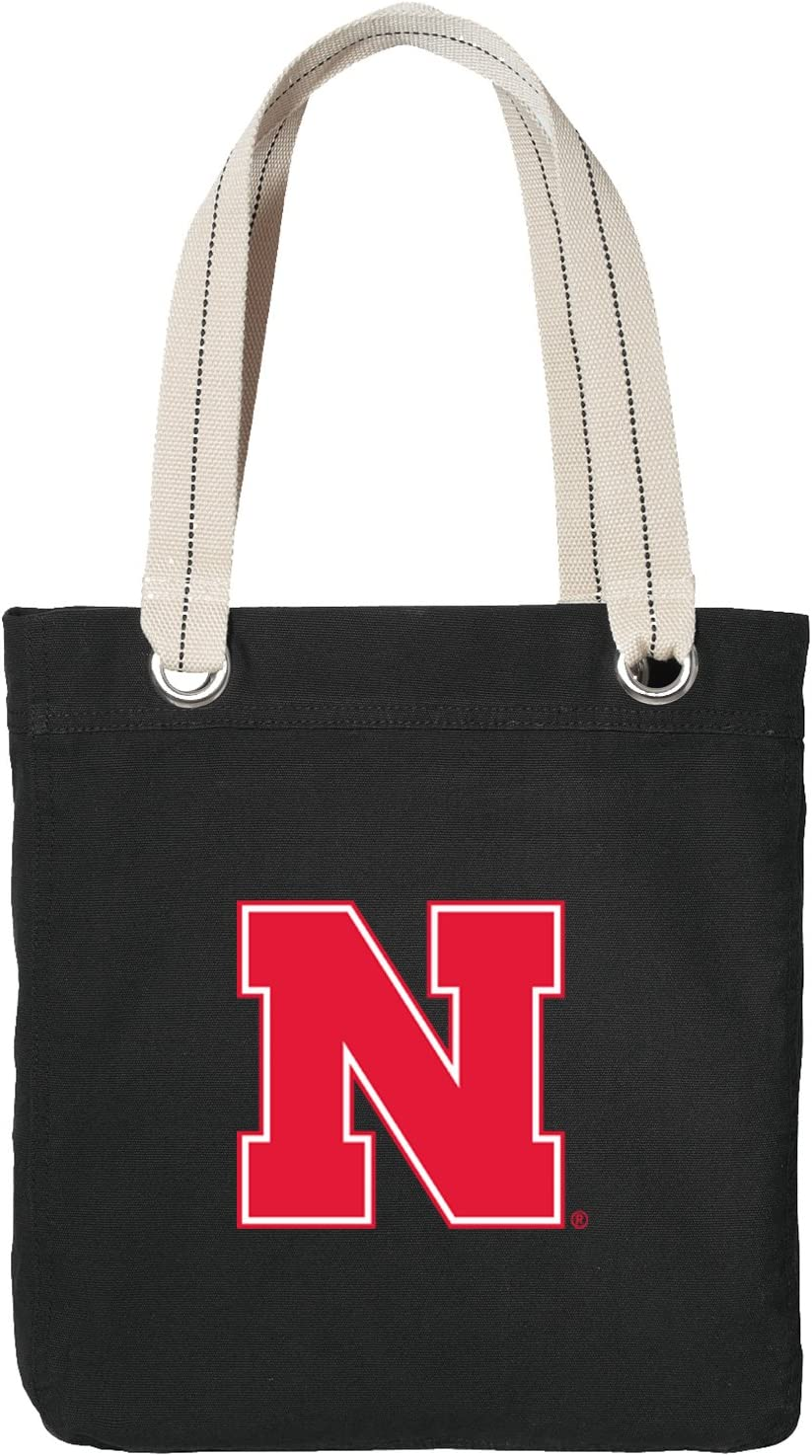 Broad Bay University of Nebraska Drawstring Backpack Rich Canvas Nebraska Huskers Cinch Bag