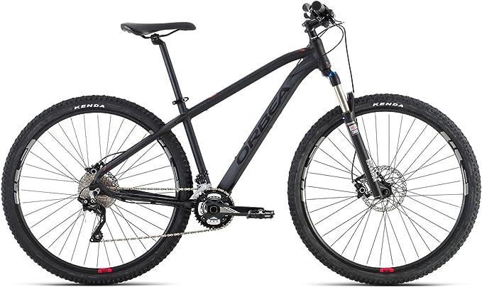 Bicicleta Montaña Orbea MX 10, 29 pulgadas, talla XL, negra-roja: Amazon.es: Deportes y aire libre