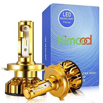 Led Voiture Cool 36vTout H4 De Kimood 72w Kit Voiture10400lm Ensemble6000k 9 Ampoule White Et IntégréRemplacement Un Conversion En PkwO80n