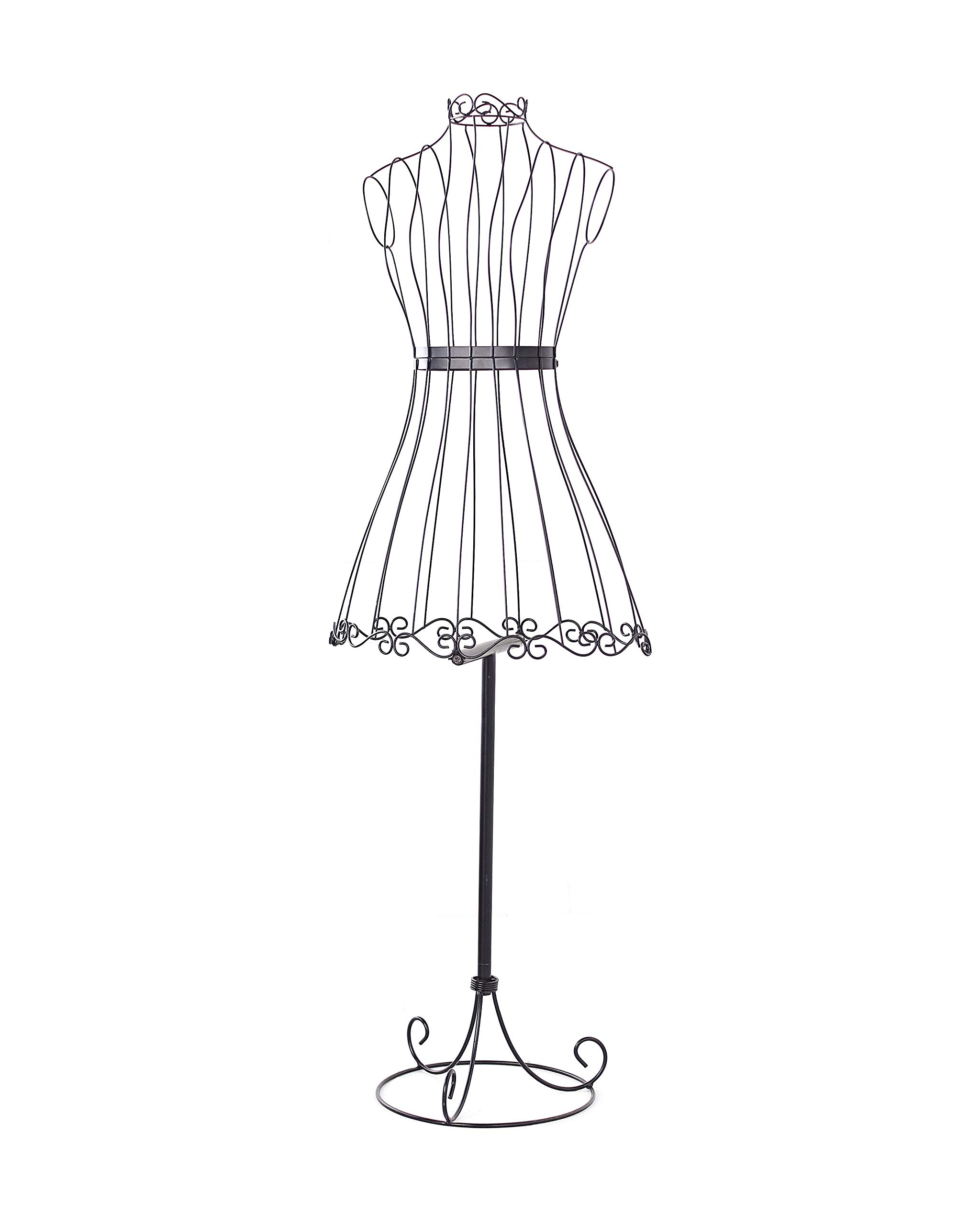 Dress Form for Girls with Steel Wire Silhouette by The Lakeside Collection