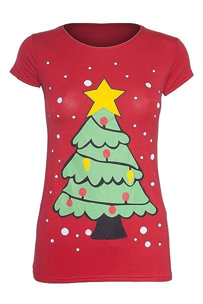 Unisex para niños camiseta de Olaf Frozen de Navidad diseño de pingüino Minion con purpurina camiseta