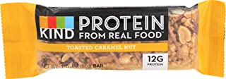 product image for KIND Protein Bar, Toasted Caramel Nut, Gluten Free, 12g Protein, 1.76 Ounce Bar Sample