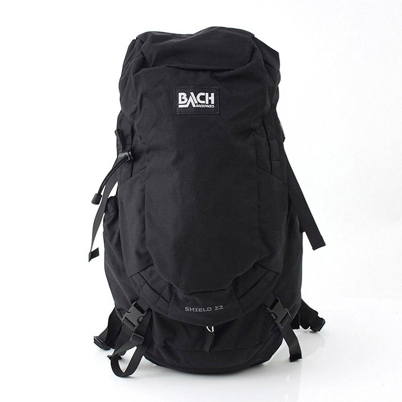 [ バッハ ] BACH バックパック 22L リュックサック デイパック Shield 22 シールド 125310 ブラック Backpack Black ナイロン バック アウトドア B06XBRPPSM ブラック