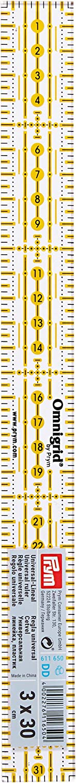 Regolo Prym 611650 Omnigrid 3 x 30 cm