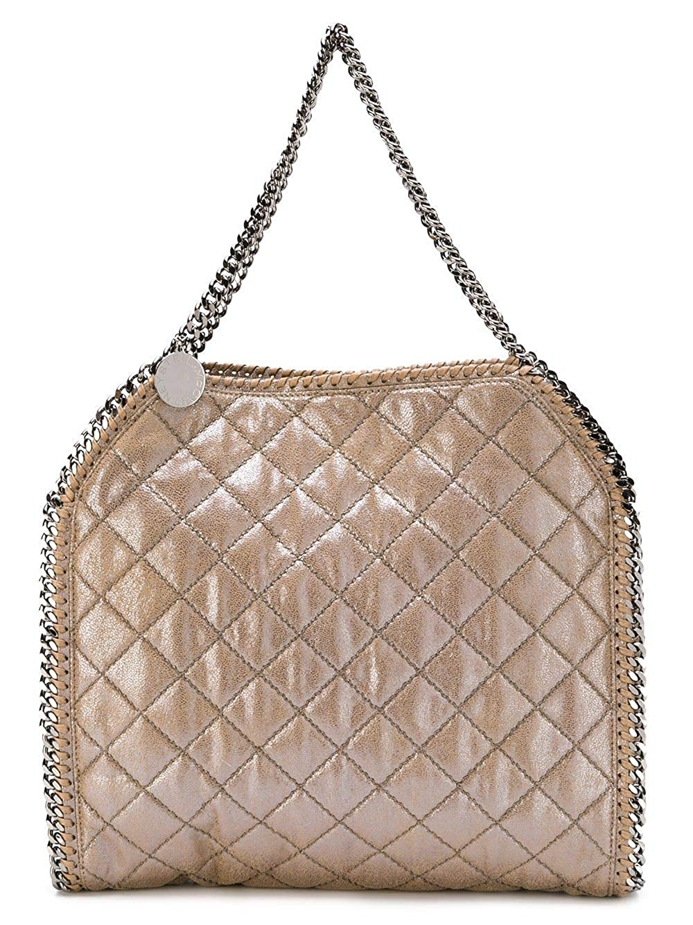 2ca9e8d0fd Amazon.com: Stella McCartney Falabella 261063W9643 Redwood Quilted Tote:  Shoes