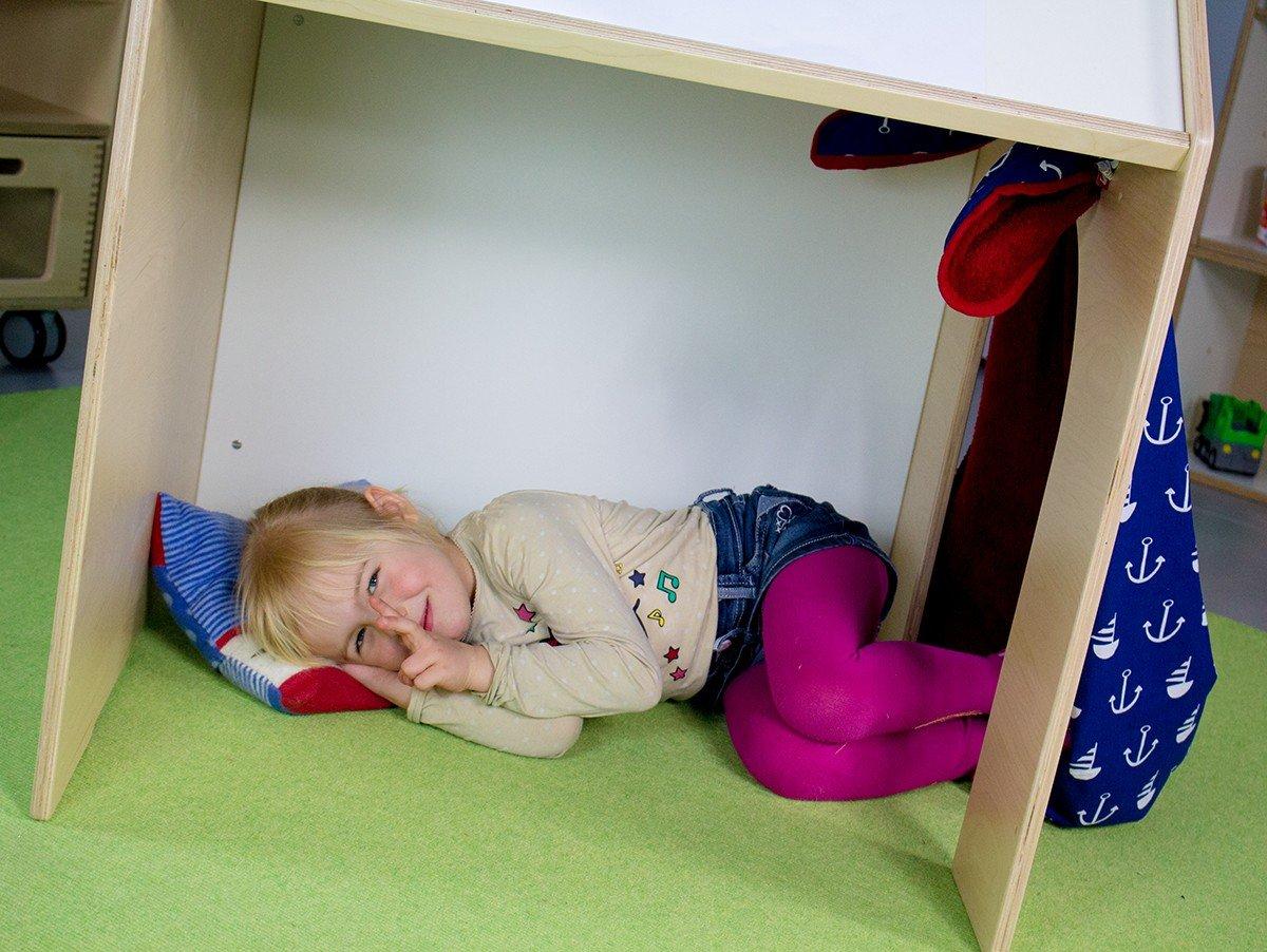 Kinder schreibtisch spielhaus malpult stehpult deskhouse ...