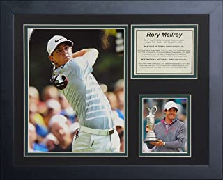 Legends Never Die'Rory McIlroy' Framed Photo Collage, 11 x 14-Inch
