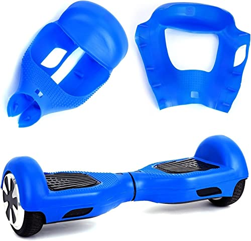 Kglobal Silicone Cove for 6.5 2 Wheels Balance Scooter – Balance Hover Board Protector Case Cover Lightblue Pink Black Green Blue