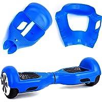 "Willdo Silicone Cove para 6.5""2 Wheels Balance Scooter - Balance Hover Board Protector Funda Cubierta (Azul Claro/Rosa…"