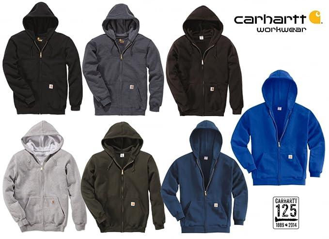 539813a067f96 Carhartt - Sweat-Shirt - Sweat à Capuche - Homme Gris Gris  Amazon.fr   Vêtements et accessoires