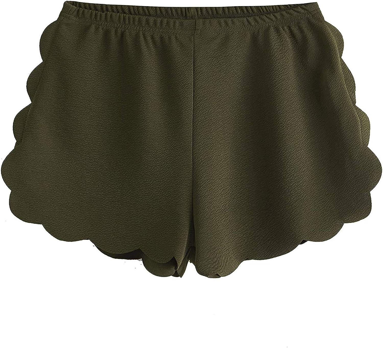 Womens Lounge Short Casual Elastic Band Drawstring Shorts Summer Camo Hot Pants