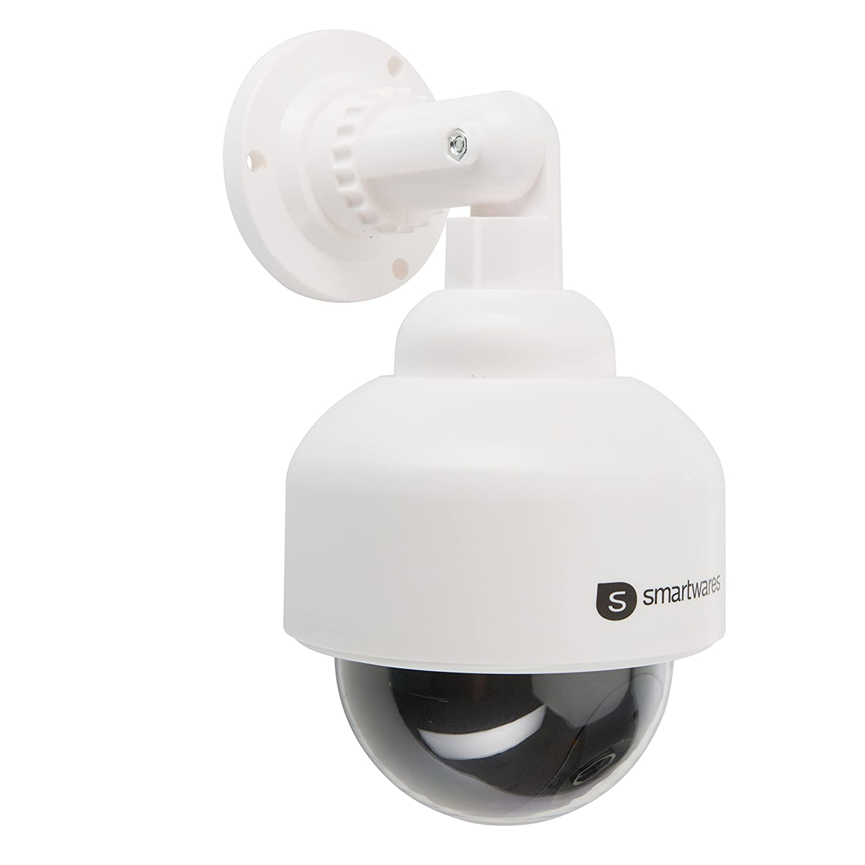 Smartwares 10.016.07 (CS88D) Cámara ficticia (interior y exterior, luz LED) color negro y blanco 1.5 V: Amazon.es: Bricolaje y herramientas