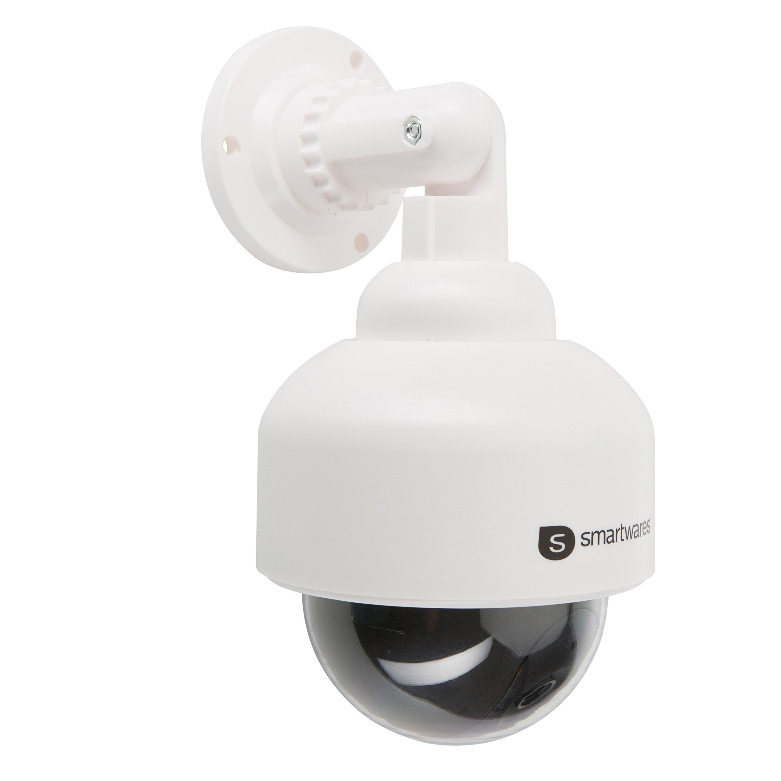 Smartwares 10.016.07 (CS88D) Cámara ficticia (Interior y Exterior, luz LED) Color Negro y Blanco, 1.5 V product image