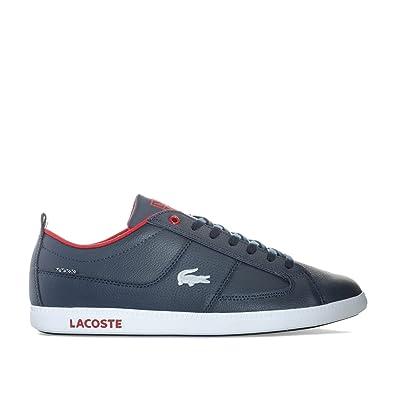 eea21ae959 Lacoste Baskets Observe Bleu Homme: Amazon.fr: Chaussures et Sacs