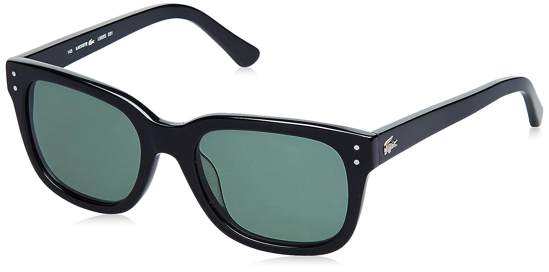 c07667a57b3f Lacoste UV Protected Rectangular Men s Sunglasses - (Lacoste 668 001 52  S