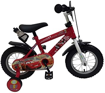 Disney Bicicleta Infantil Chico Niño Cars 3 12 Pulgadas con Ruedas ...