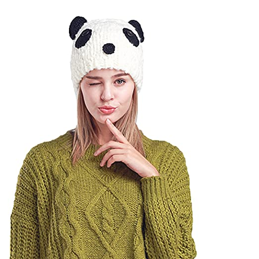 de95a398bdcc7 EINSKEY Lady French Beret Wool Beret Cap Chic Winter newsboy Hat Grid  Striped Slouchy Beanie For