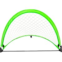 OMorc Portable Pop-Up Soccer Goal with Carry Bag