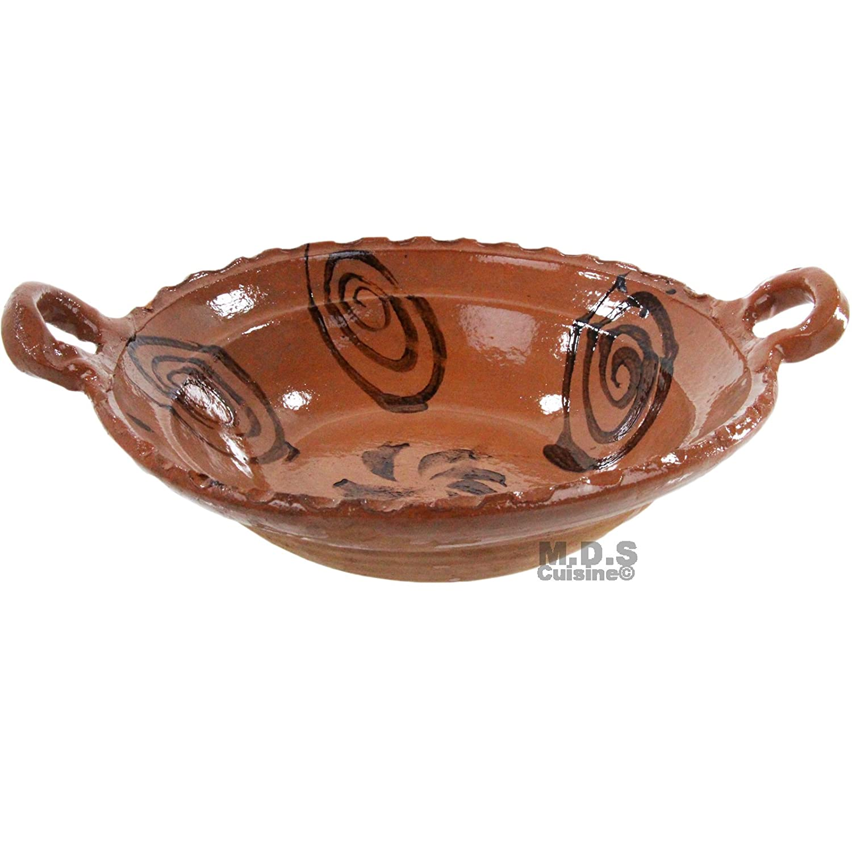Cazuela de barro sin plomo arcilla cacerola sin plomo olla de barro tradicional: Amazon.es: Hogar