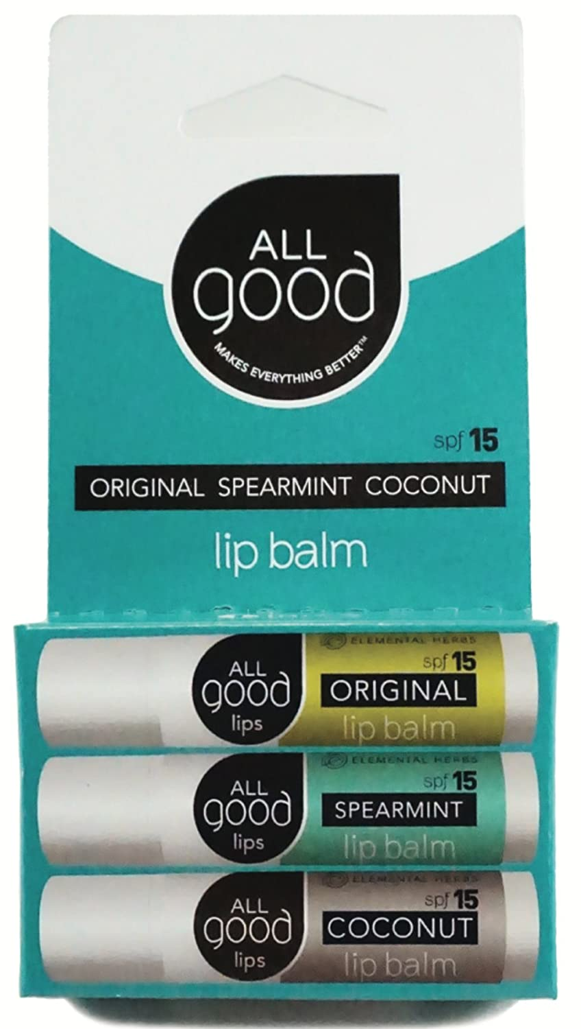 All Good - Natural Lip Balm oureczemastory.com