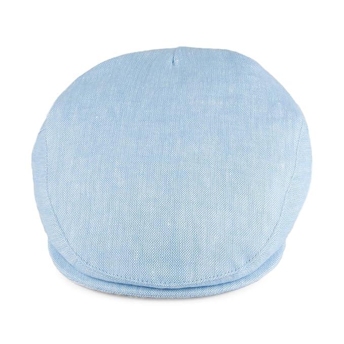 Gorra plana de lino de Failsworth - Azul Cielo - 59: Amazon.es ...