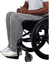 Mens Adaptive Open Back Polar Fleece Wheelchair Pants