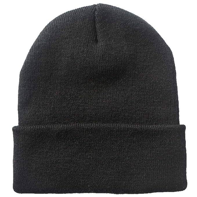 26ea04e6cda Telea Thick Winter Warm Cuffed Beanie with Soft Lining Adult Size ...